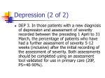 depression 2 of 2
