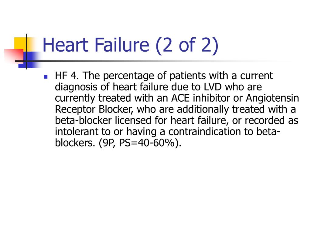 Heart Failure (2 of 2)