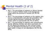 mental health 2 of 2