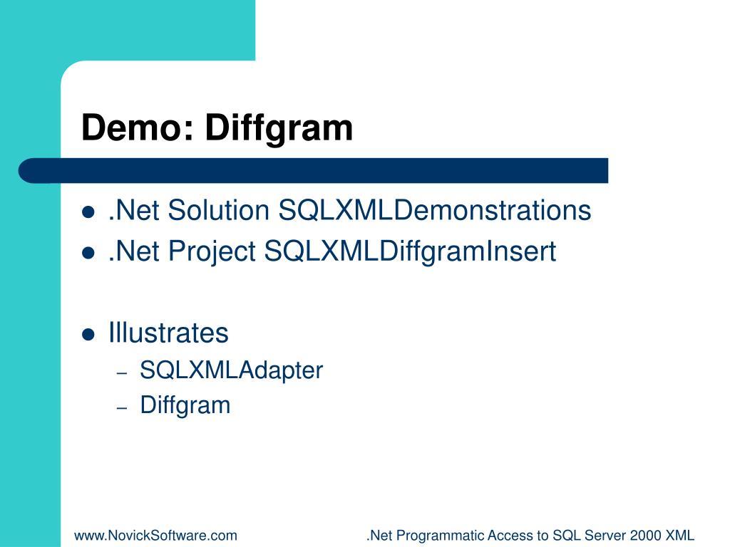 Demo: Diffgram