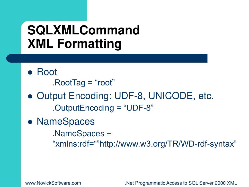 SQLXMLCommand