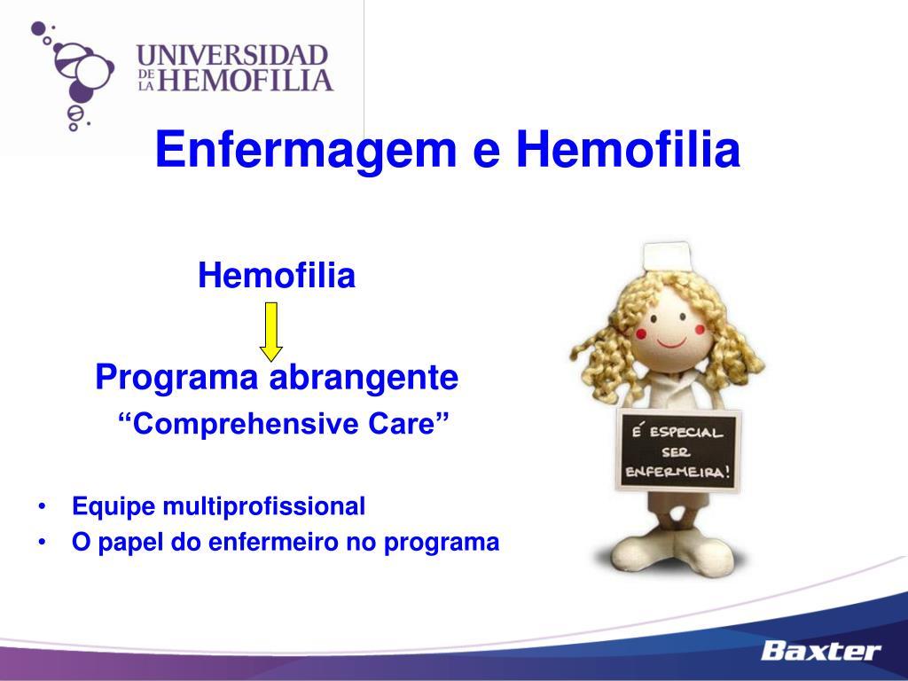 Enfermagem e Hemofilia