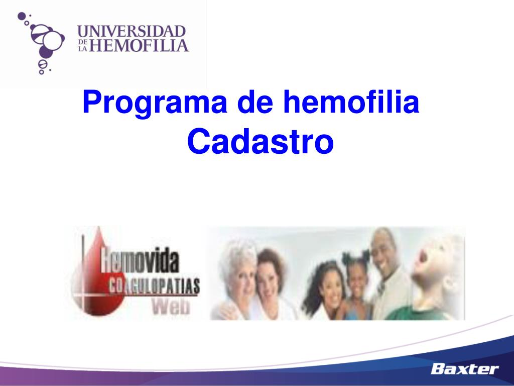 Programa de hemofilia