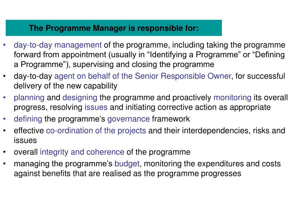 ogc managing successful programmes pdf
