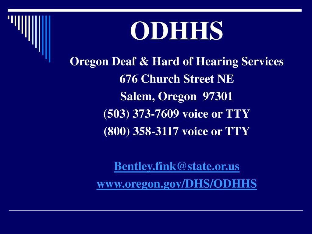 ODHHS