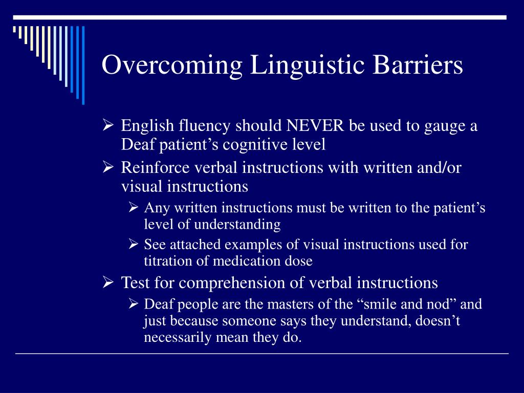 Overcoming Linguistic Barriers
