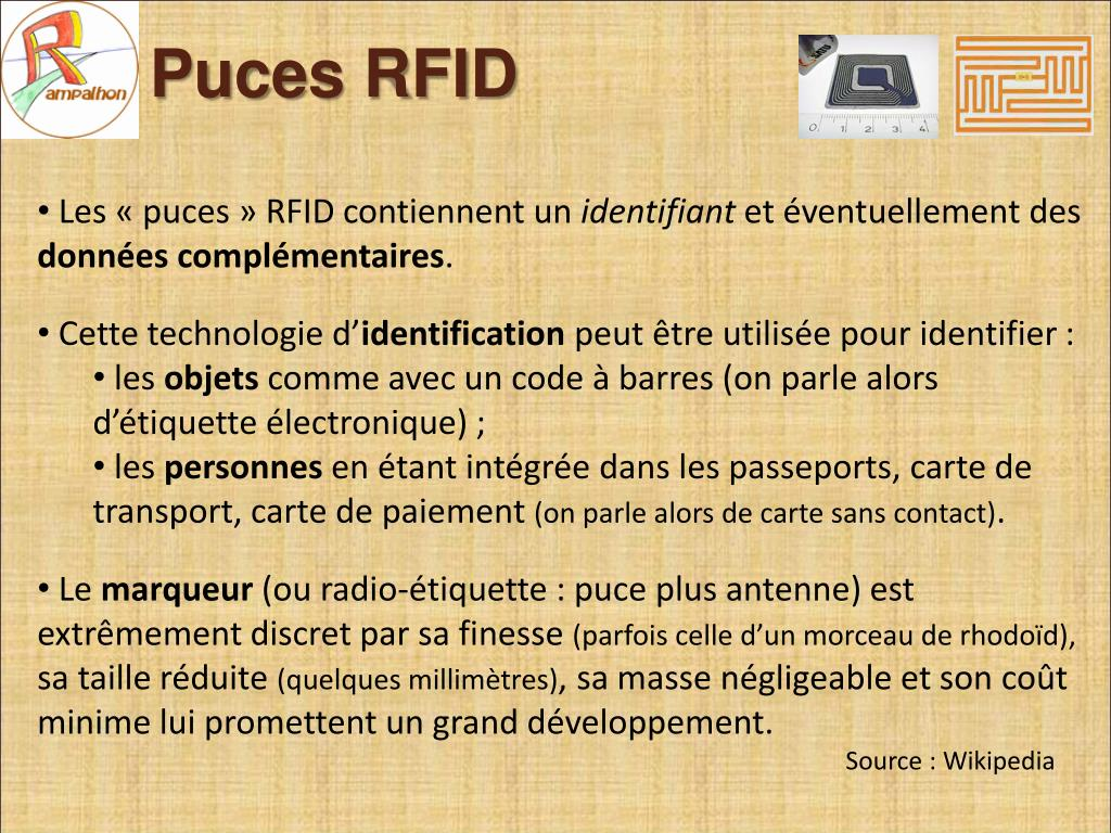 Puces RFID