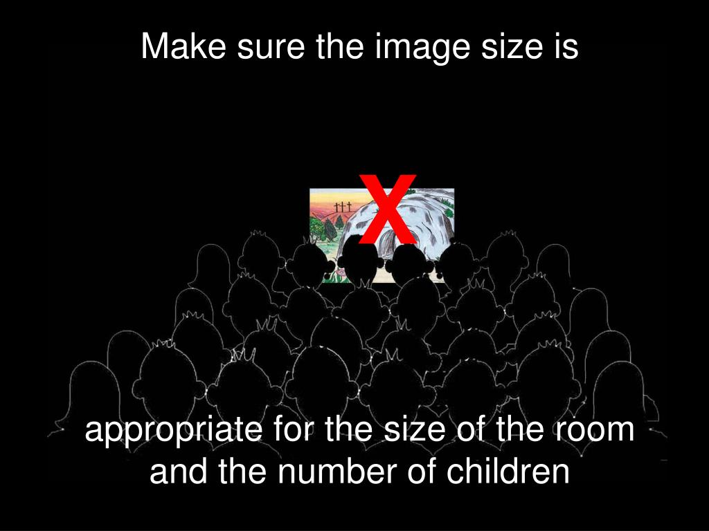 Make sure the image size is