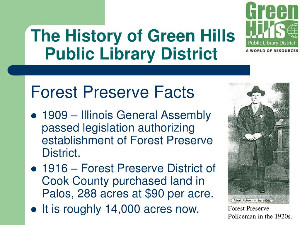 The History of Green Hills