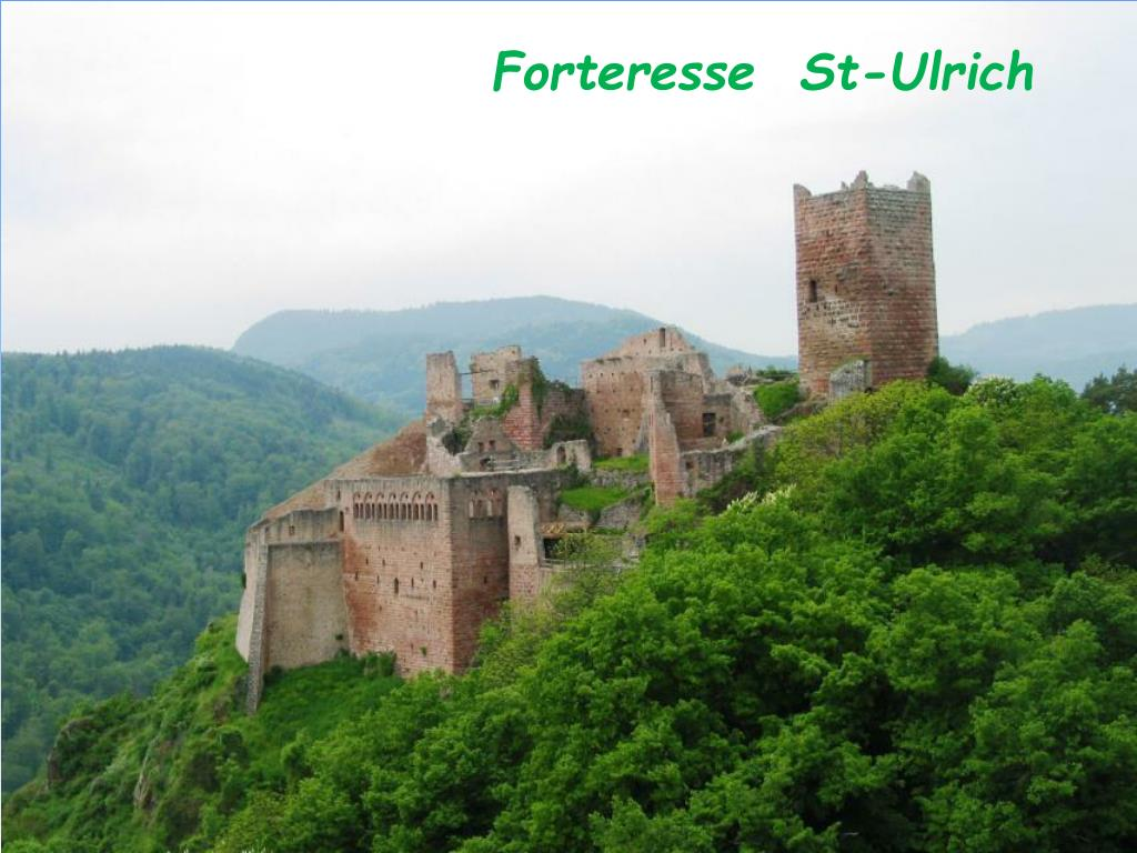 Forteresse  St-Ulrich