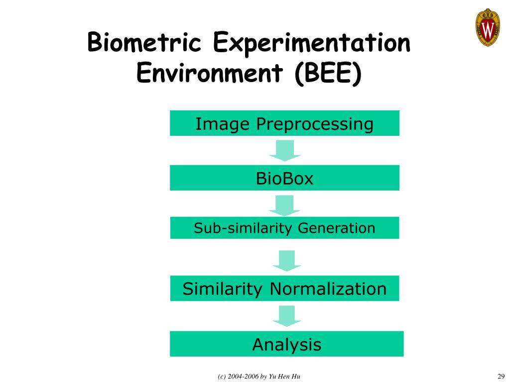 Biometric Experimentation Environment (BEE)