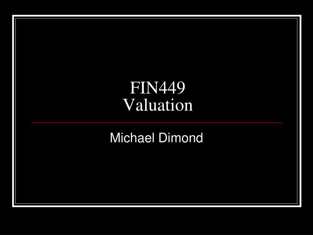 FIN449