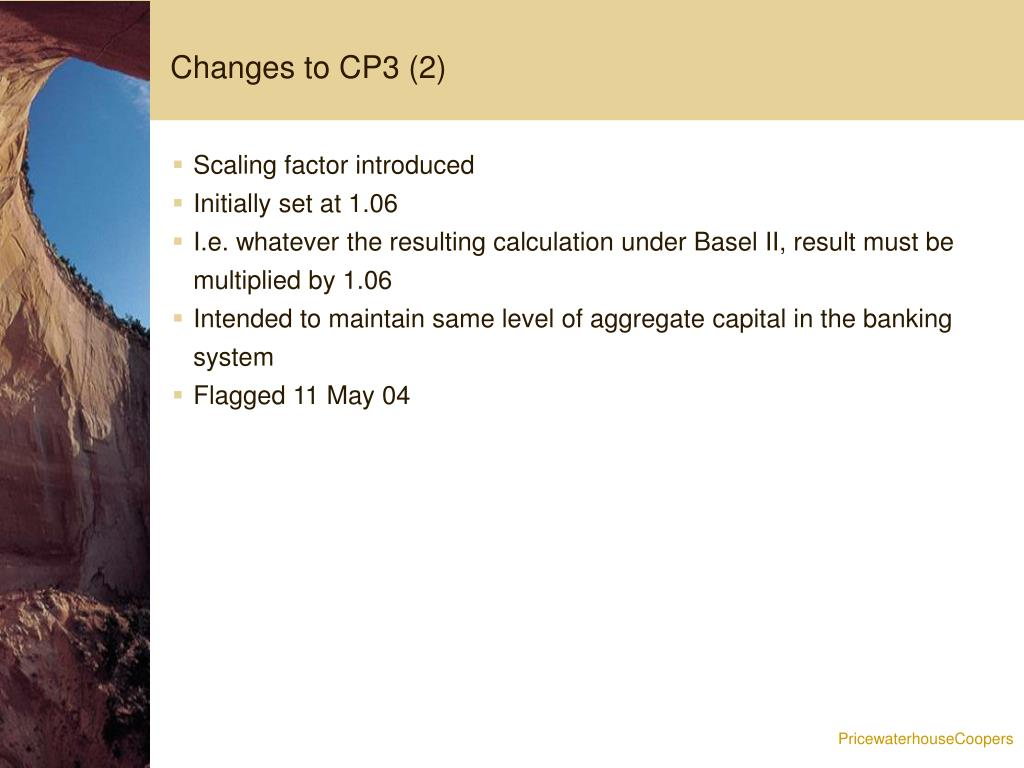 Changes to CP3 (2)