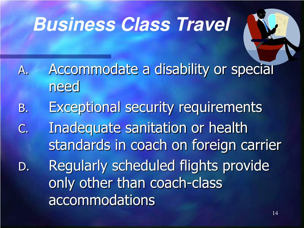 Business Class Travel