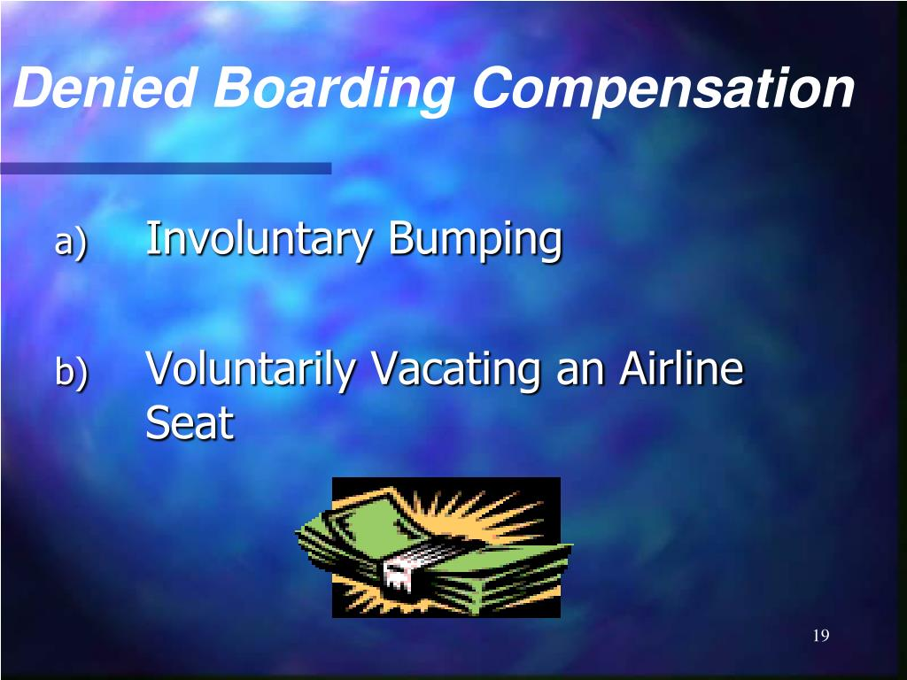 Denied Boarding Compensation