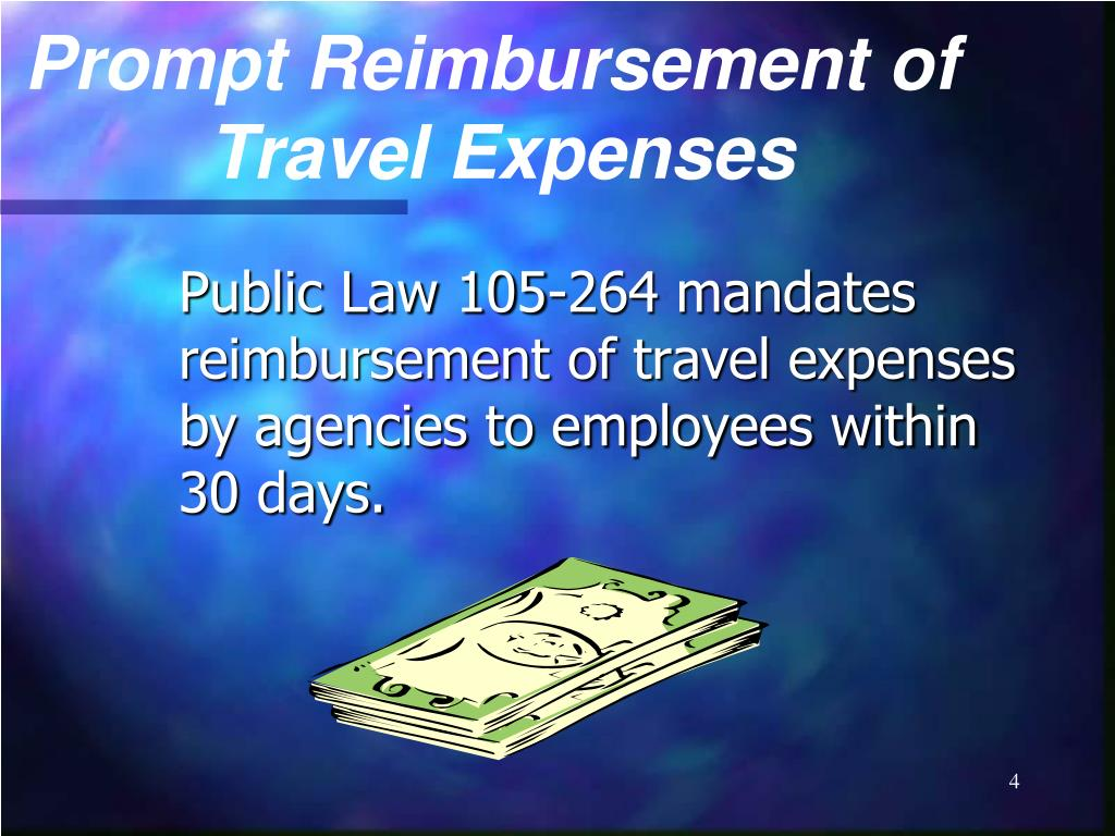 Prompt Reimbursement of
