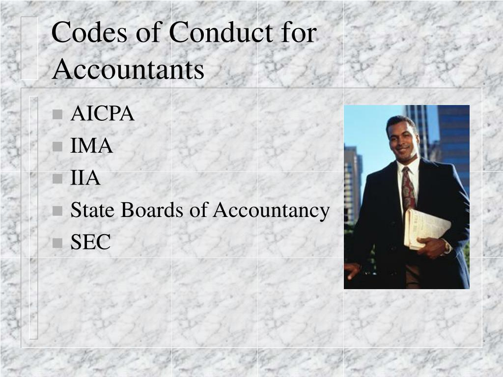 Codes of Conduct for Accountants