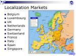 localization markets