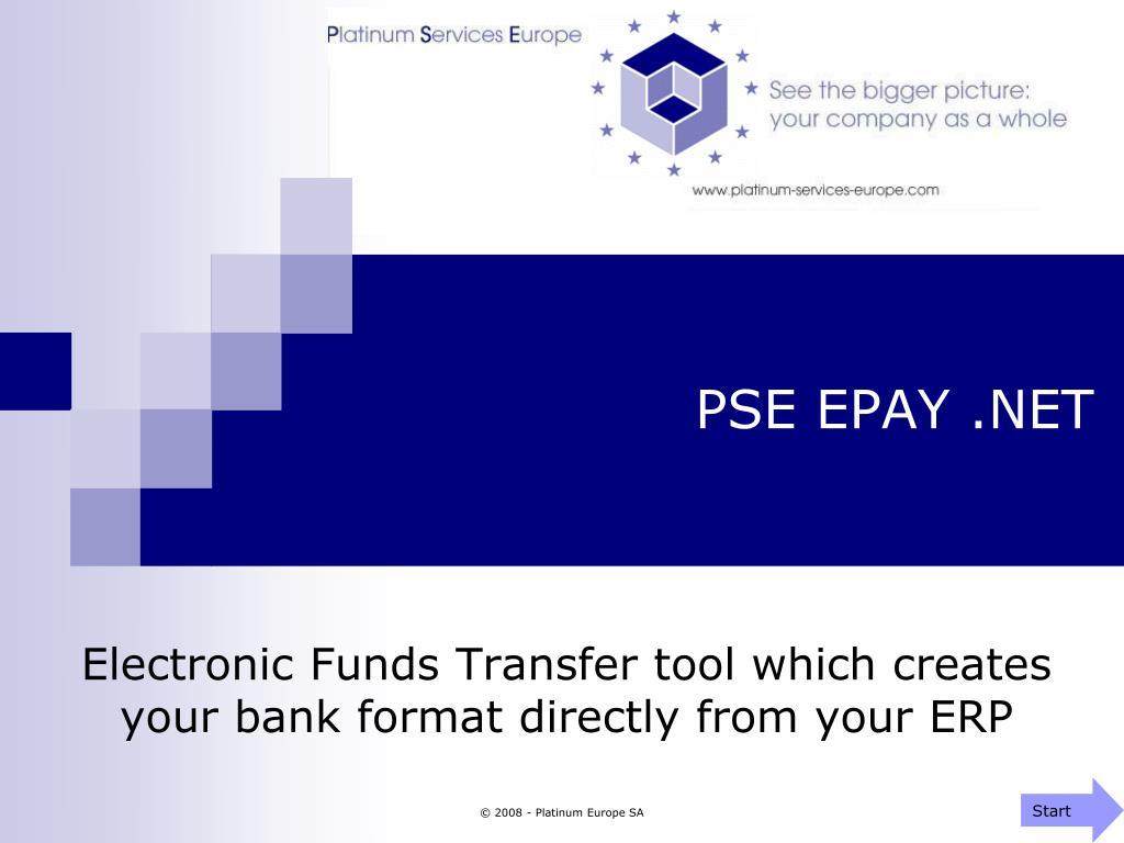 PSE EPAY .NET
