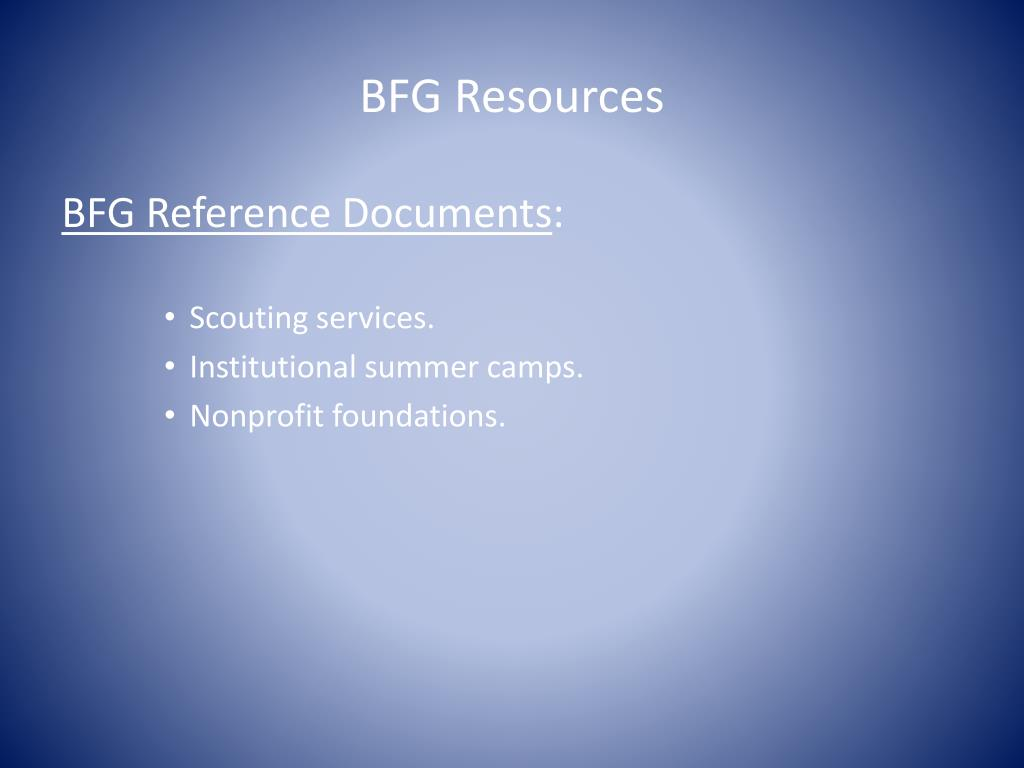 BFG Resources