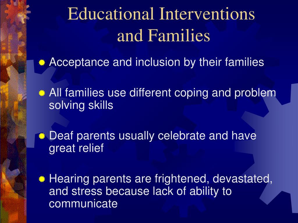 Educational Interventions