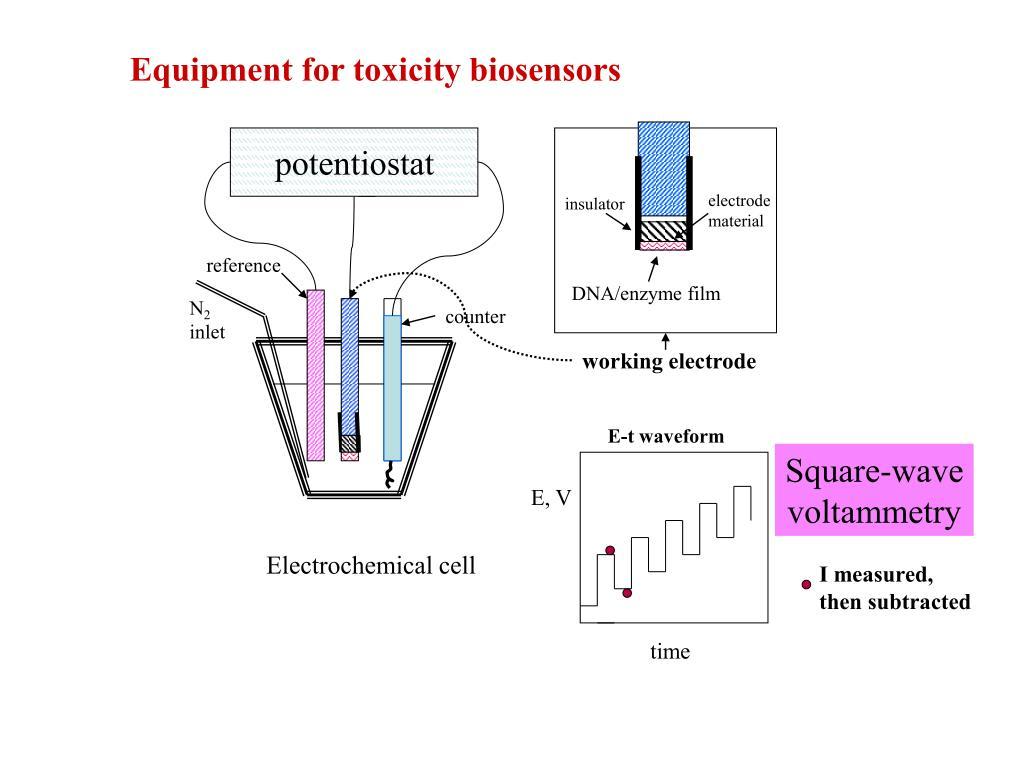 Equipment for toxicity biosensors