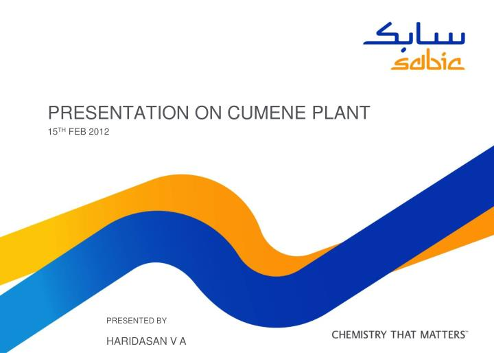 Presentation on cumene plant l.jpg