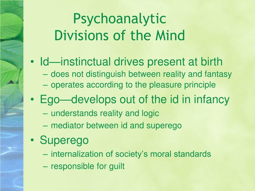 Psychoanalytic