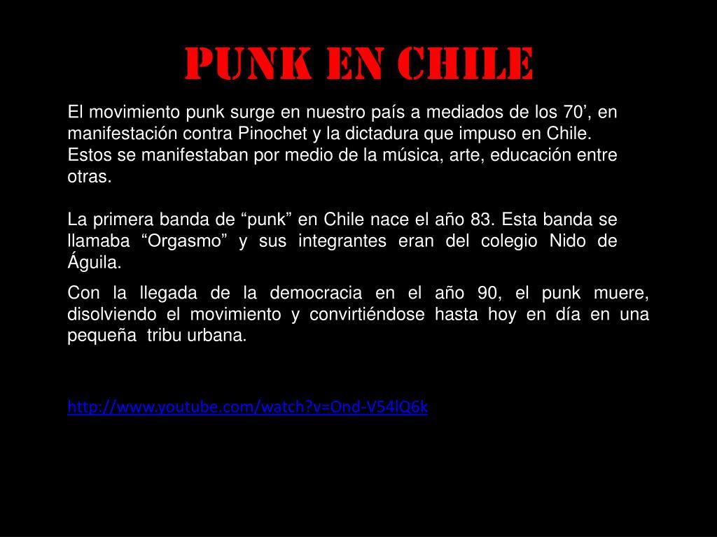 Punk en Chile