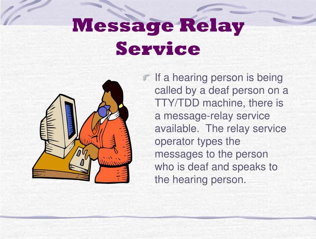 Message Relay Service
