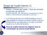 scope de l audit interne 1