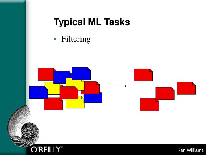 Typical ML Tasks