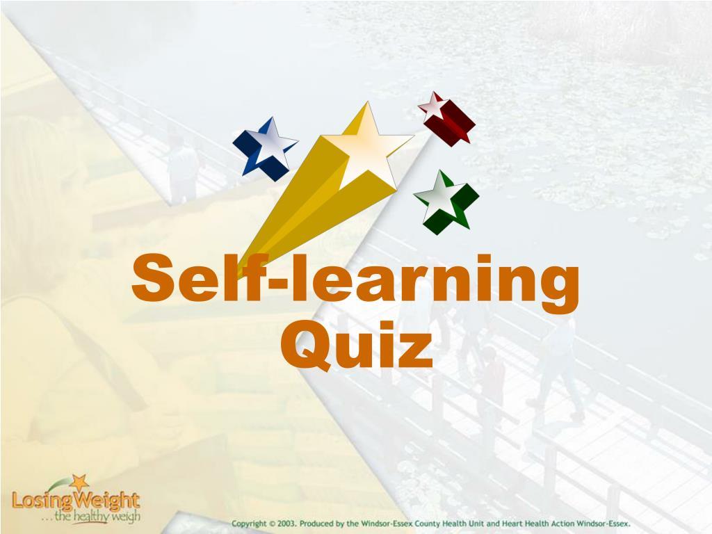 Self-learning Quiz