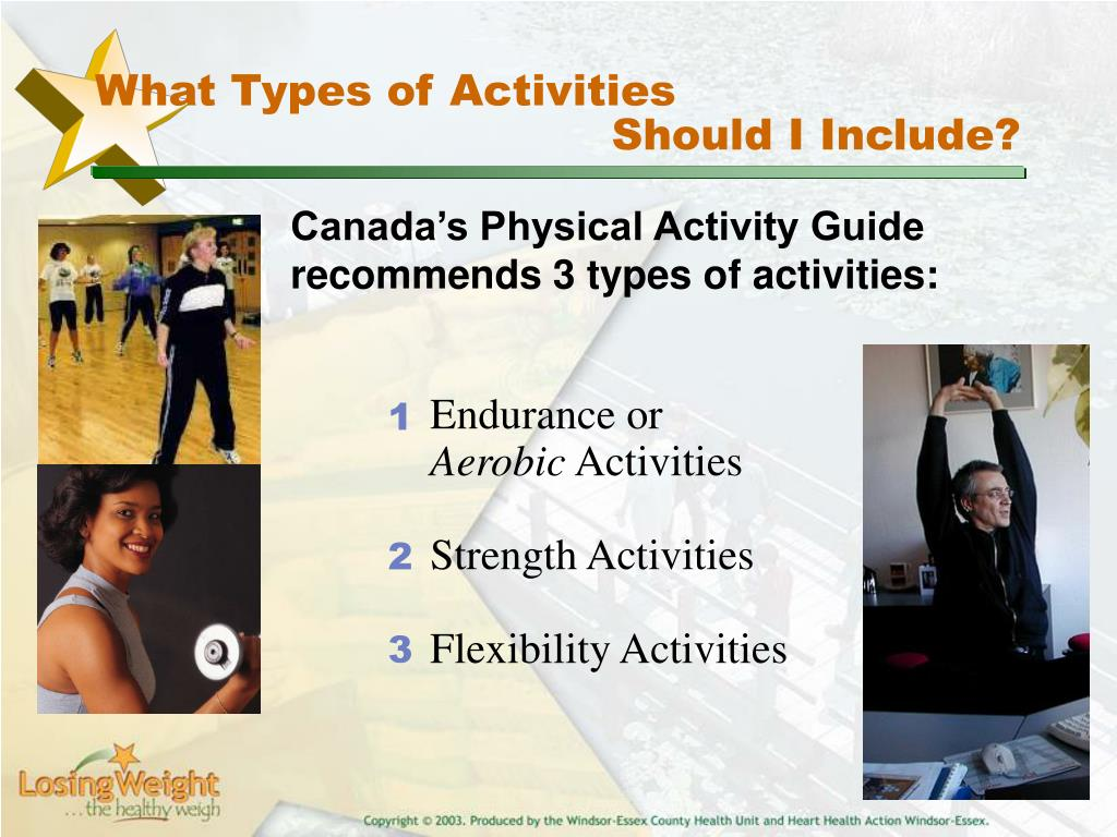 What Types of Activities