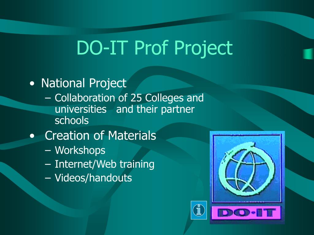 DO-IT Prof Project