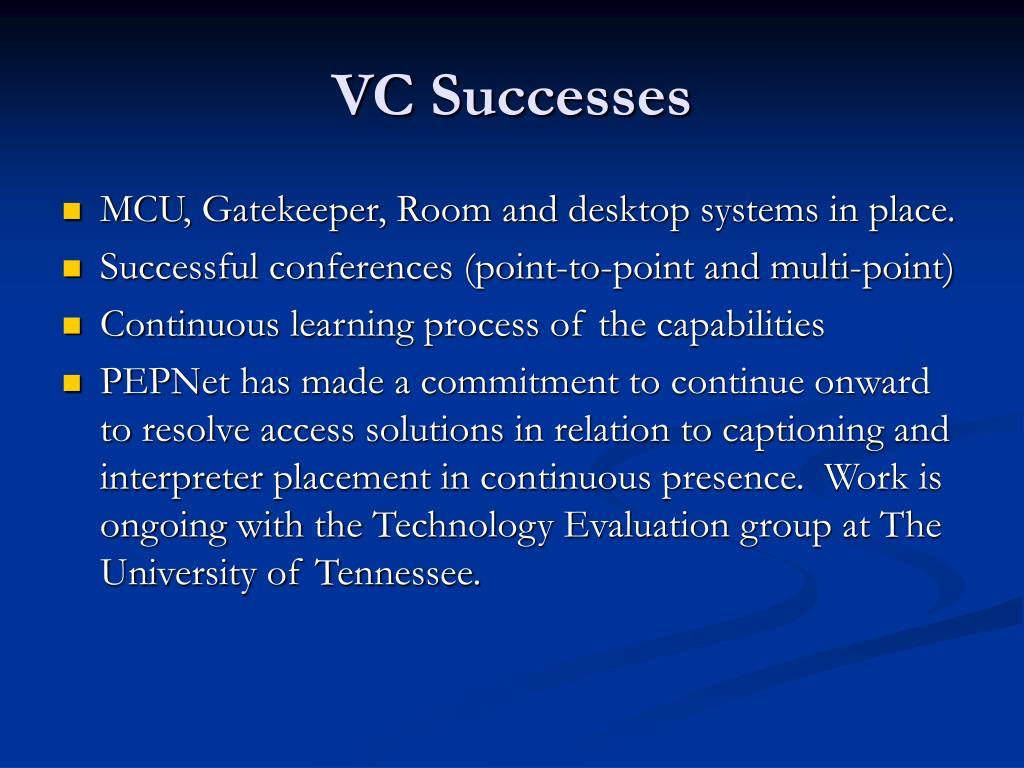 VC Successes