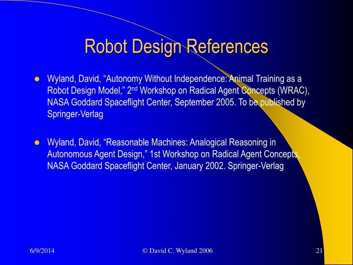 Robot Design References