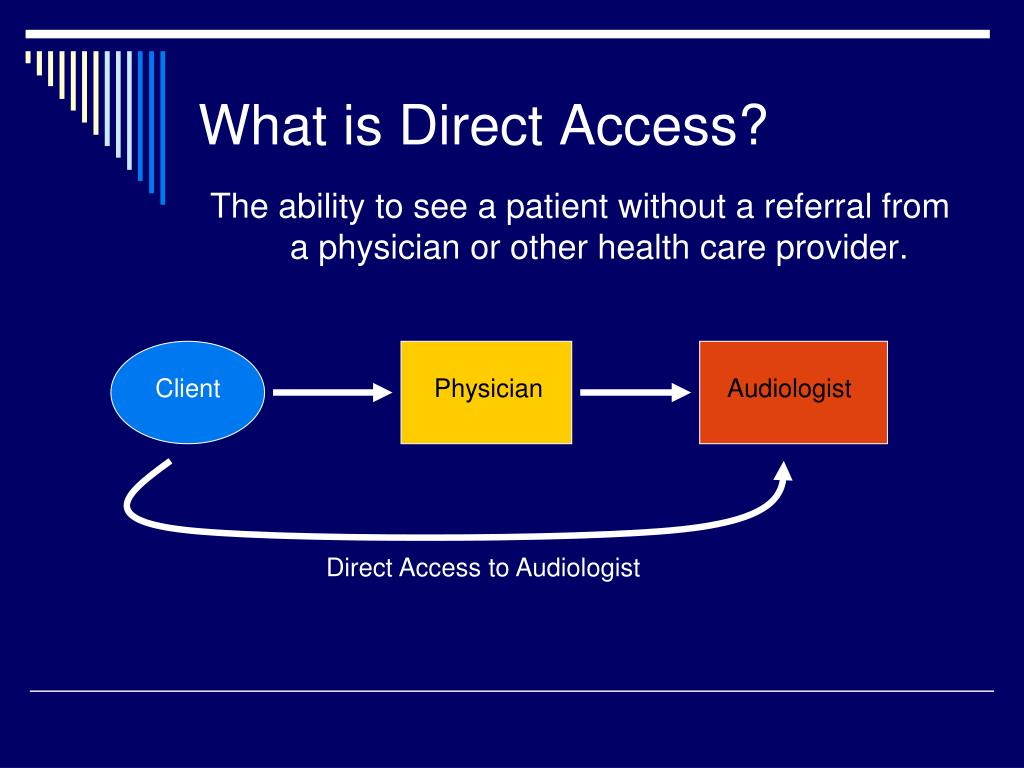 What is Direct Access?