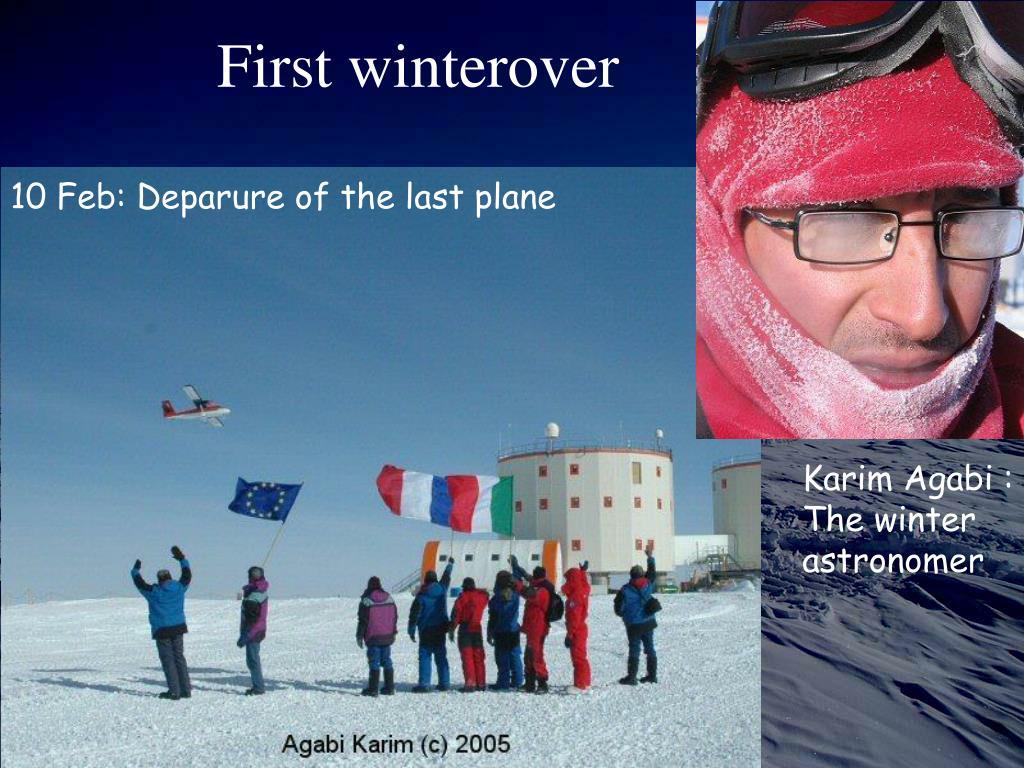 First winterover