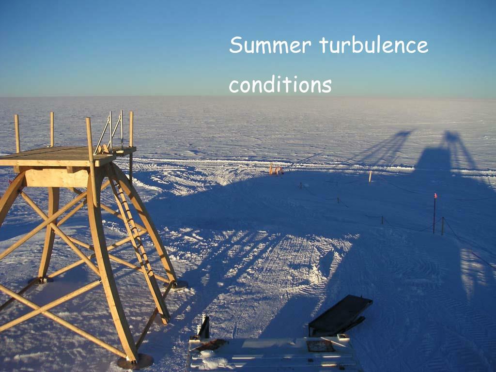 Summer turbulence