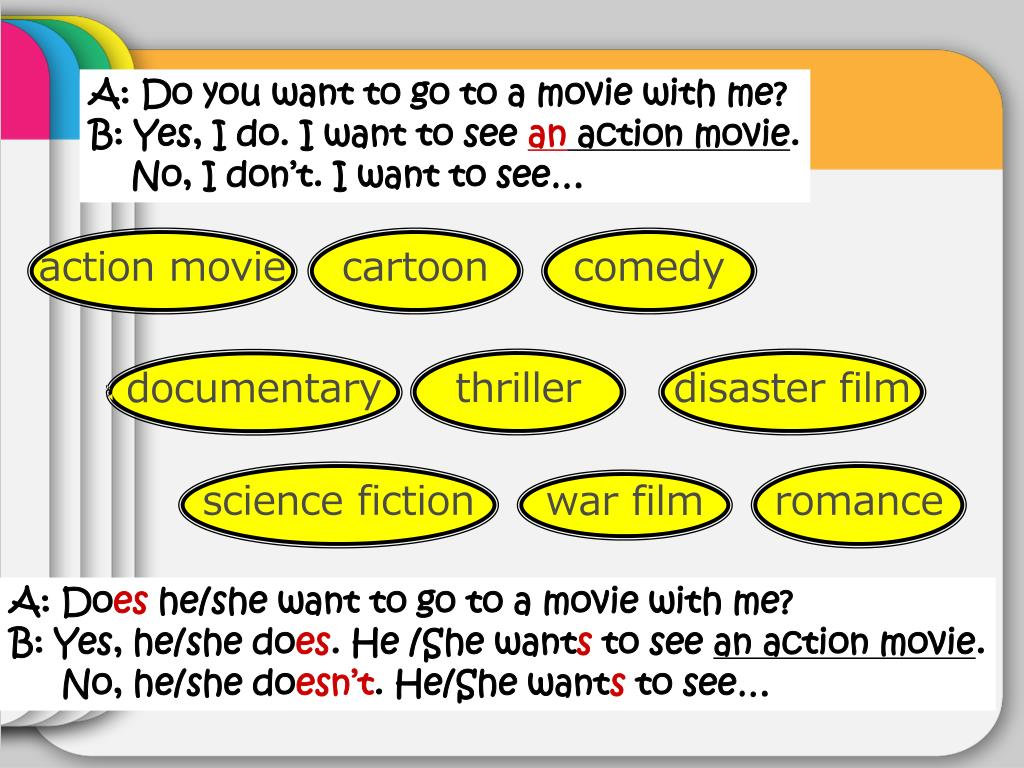 A: Do you want to go to a movie with me?