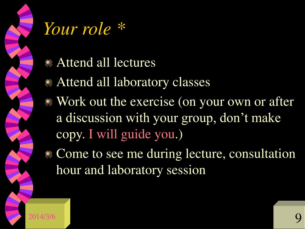 Your role *