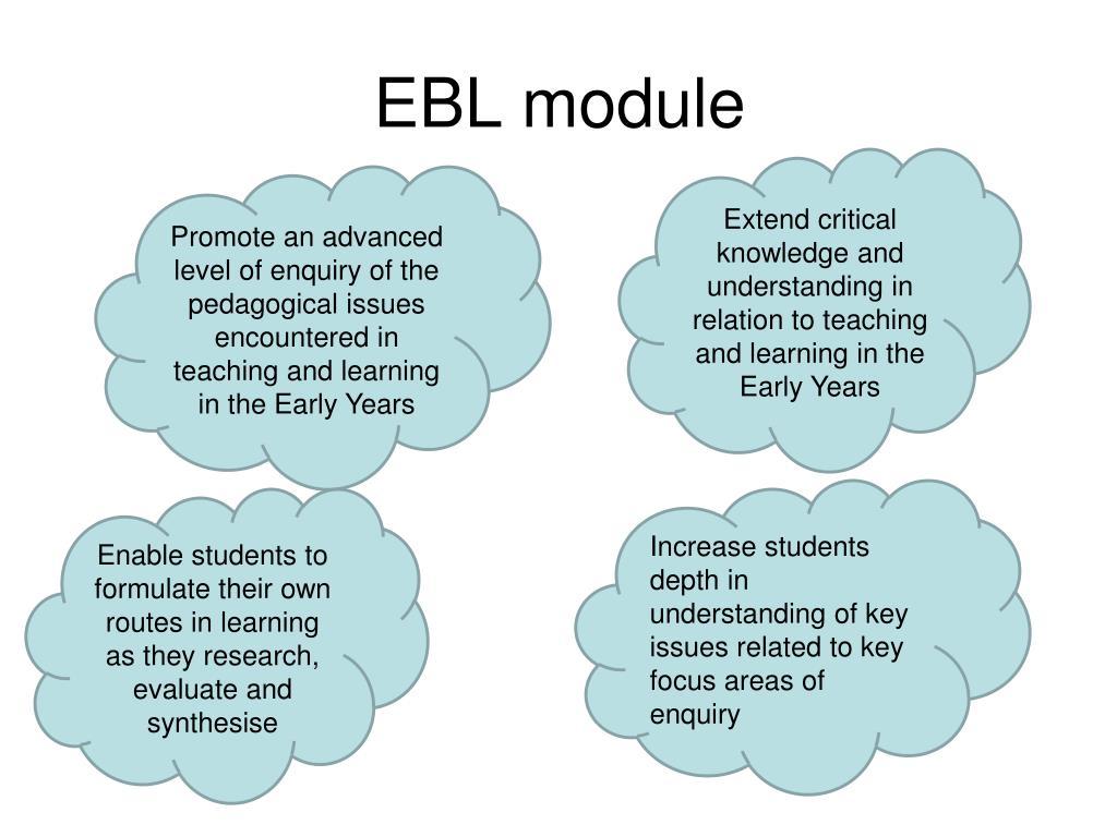 EBL module