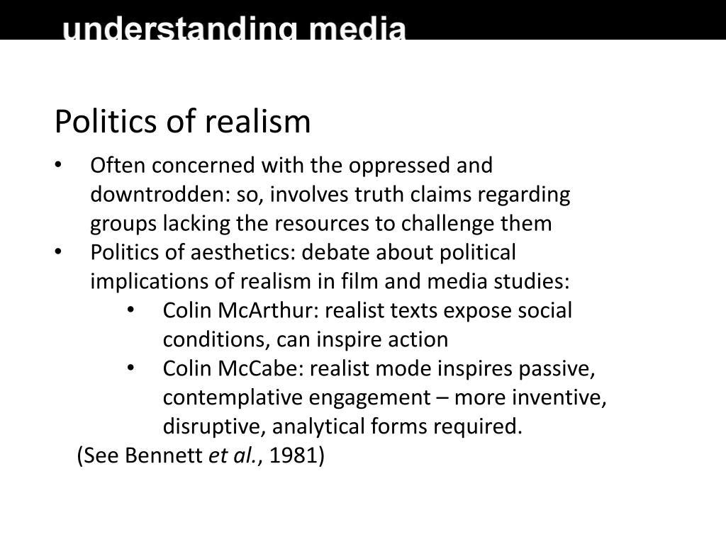 Politics of realism