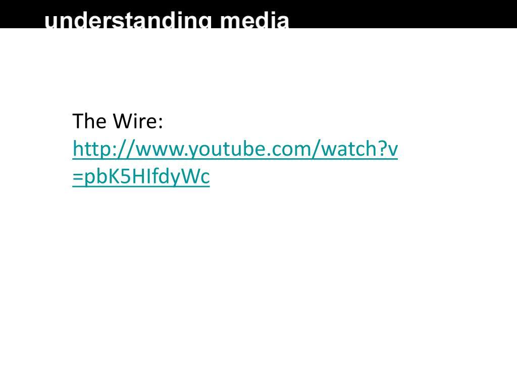 The Wire: