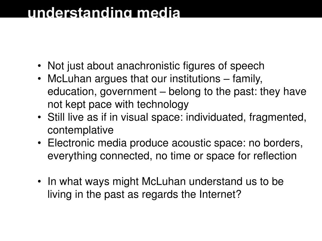 Not just about anachronistic figures of speech