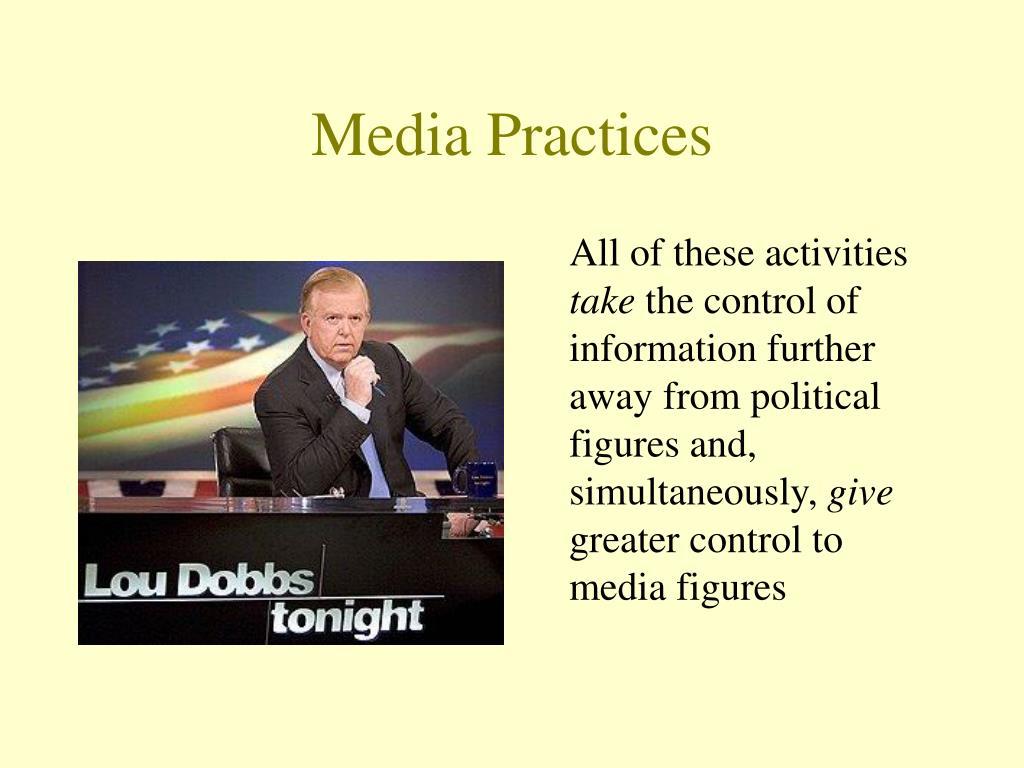 Media Practices