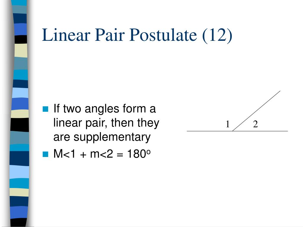 Linear Pair Postulate (12)