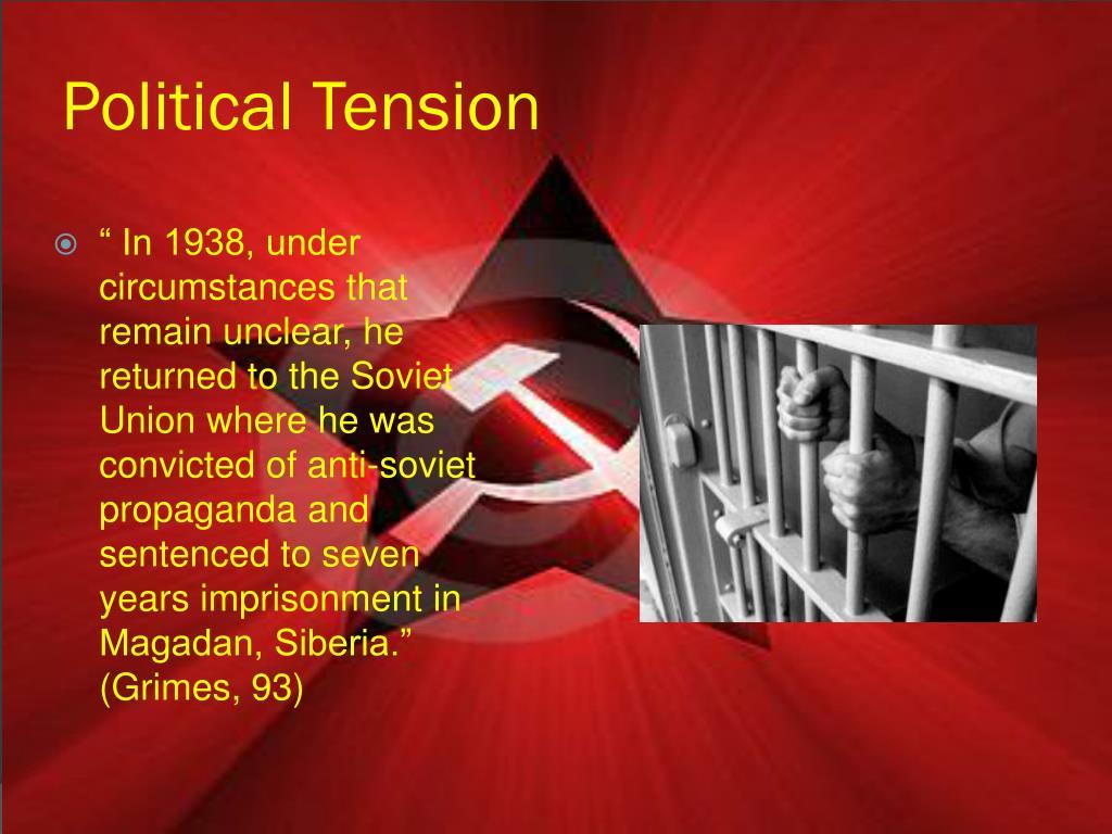 Political Tension