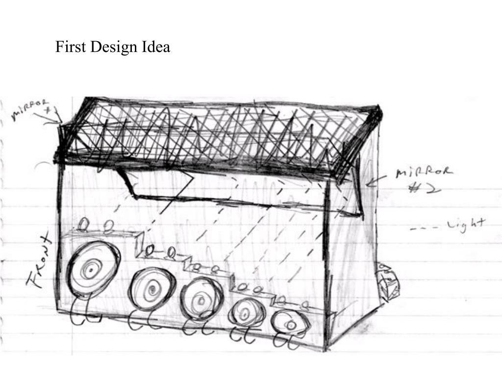 First Design Idea